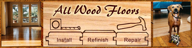 All Wood Floors home page banner image